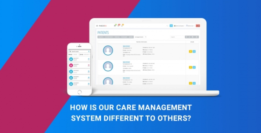 How is our care management system different to others