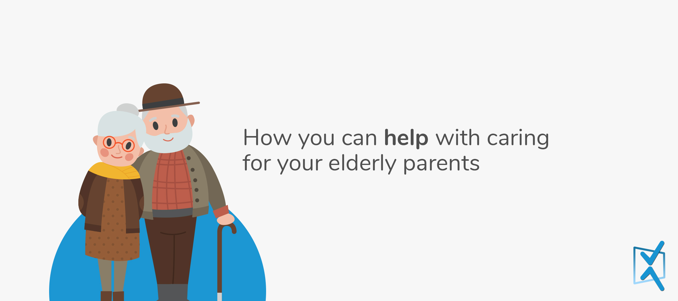 How you can help with caring for your elderly parents